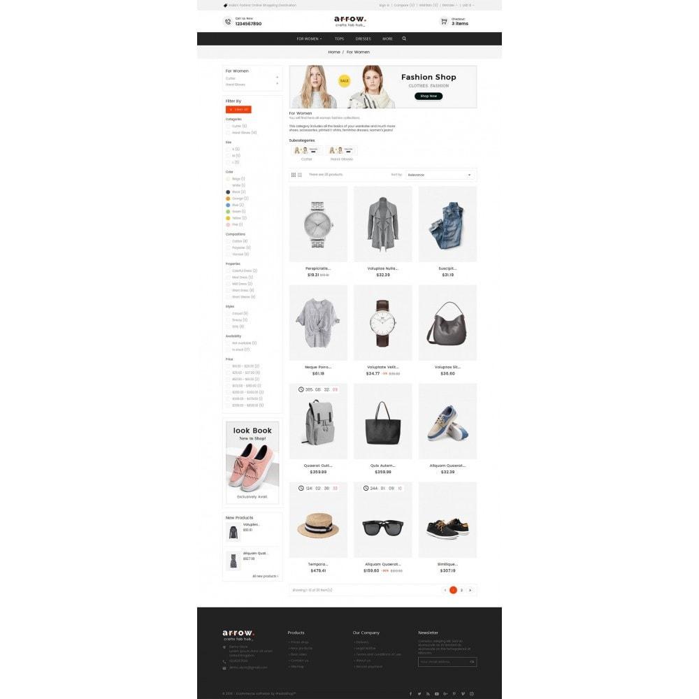 theme - Moda y Calzado - Arrow Fashion Apparels - 4