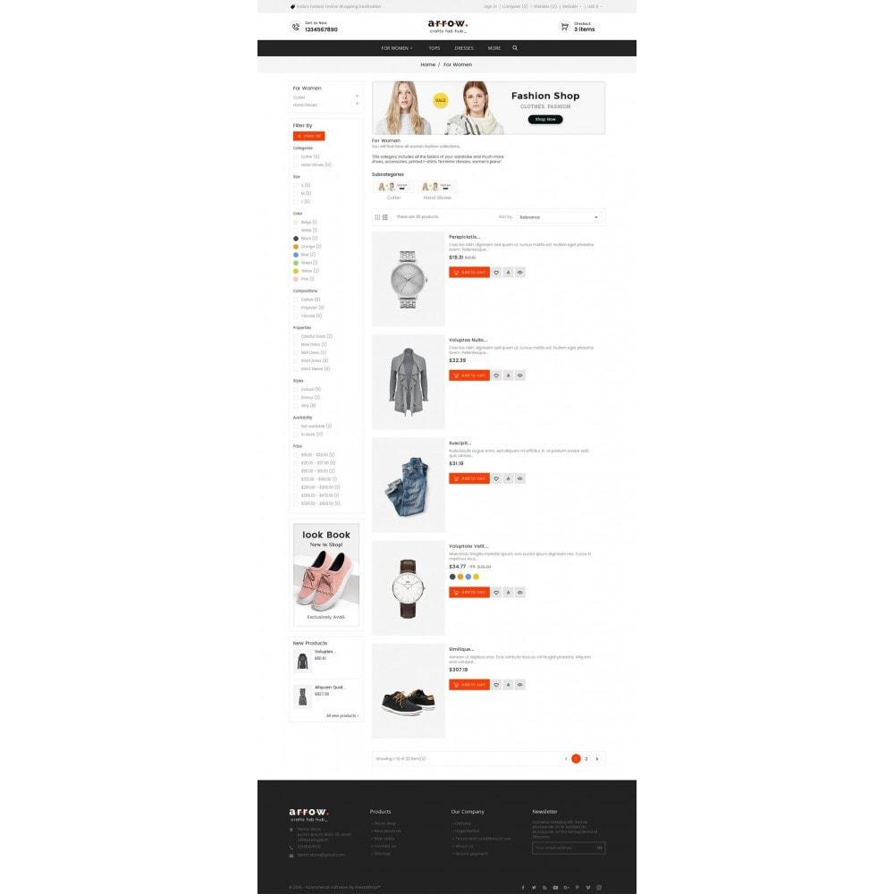 theme - Moda y Calzado - Arrow Fashion Apparels - 5