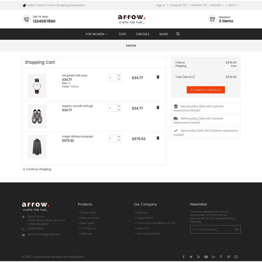 theme - Mode & Schuhe - Arrow Fashion Apparels - 7