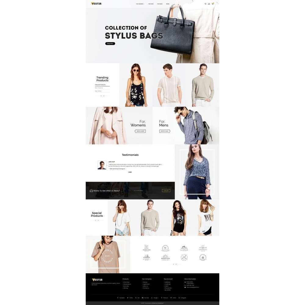 theme - Moda y Calzado - Vestir Fashion Catalog - 3