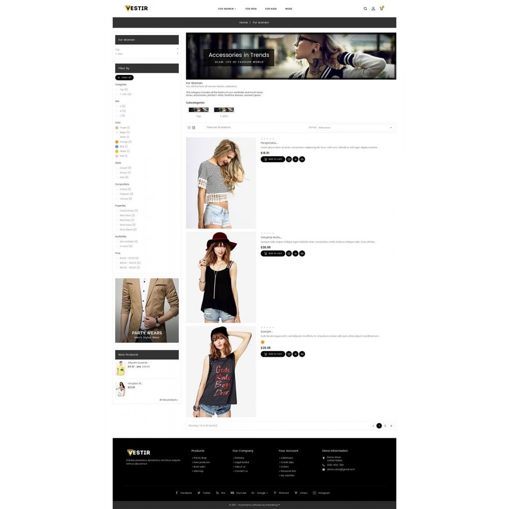 theme - Moda y Calzado - Vestir Fashion Catalog - 5