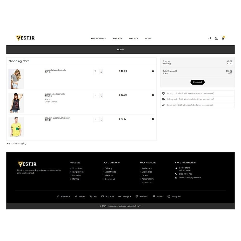 theme - Mode & Schuhe - Vestir Fashion Catalog - 7