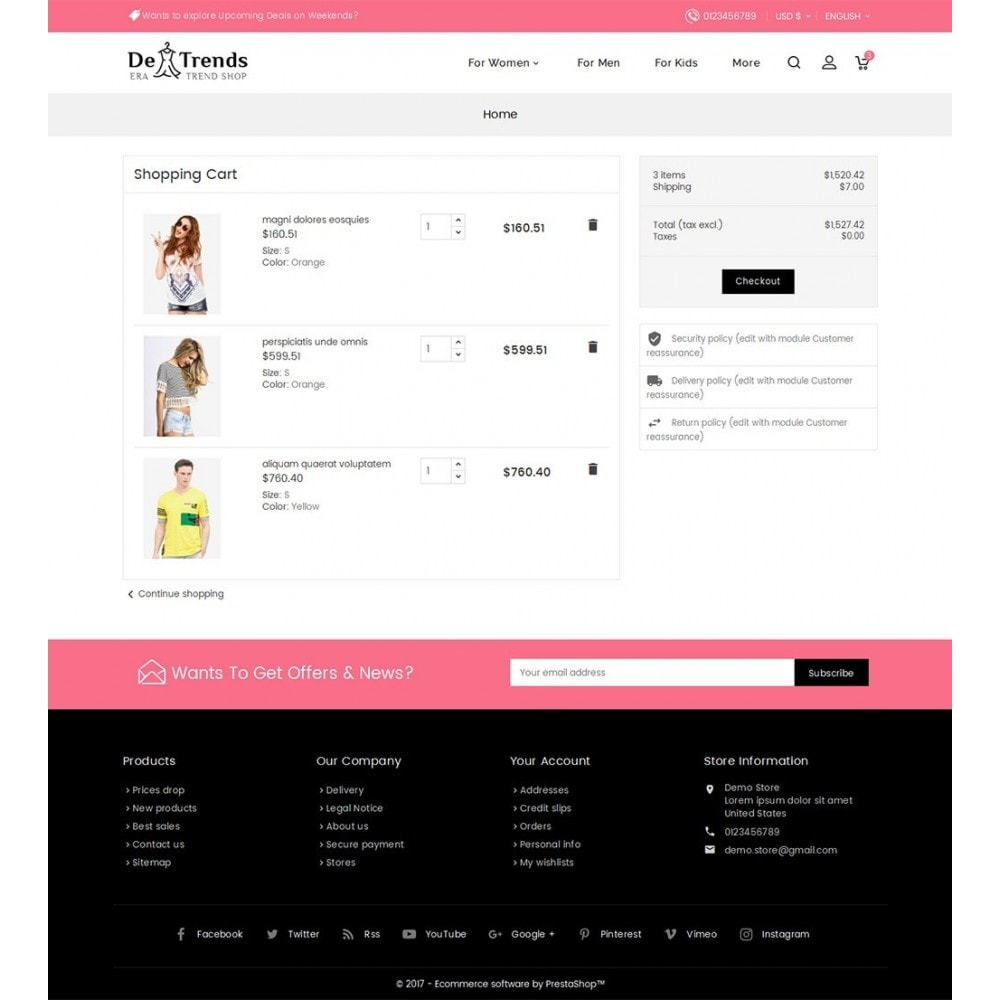 theme - Mode & Chaussures - Trends Fashion Store - 7