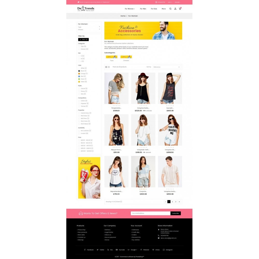 theme - Moda y Calzado - Trends Fashion Store - 4
