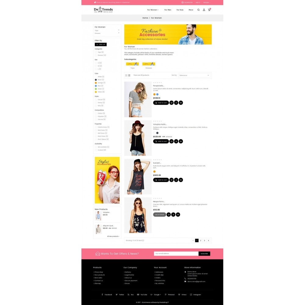 theme - Moda y Calzado - Trends Fashion Store - 5