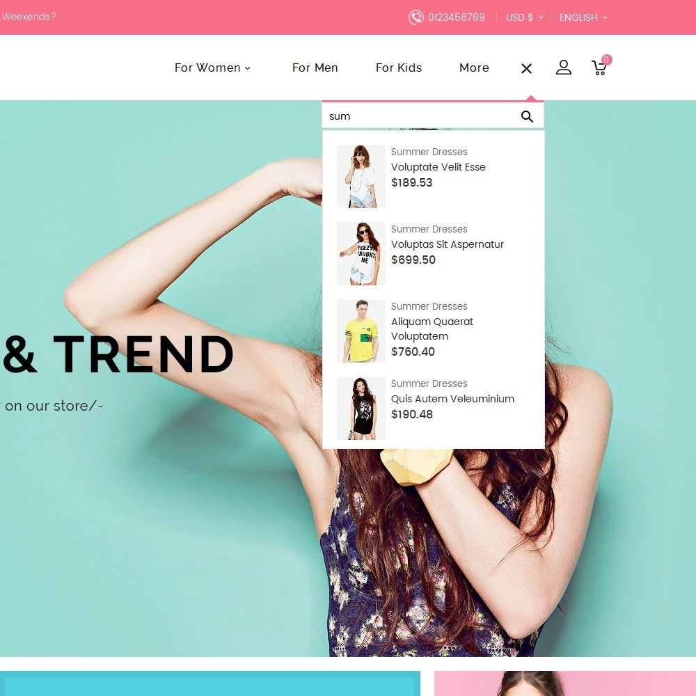 theme - Moda & Calzature - Trends Fashion Store - 11