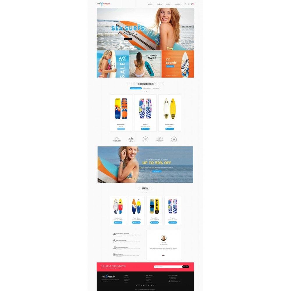 theme - Sport, Loisirs & Voyage - Surf Summer Beach - 3