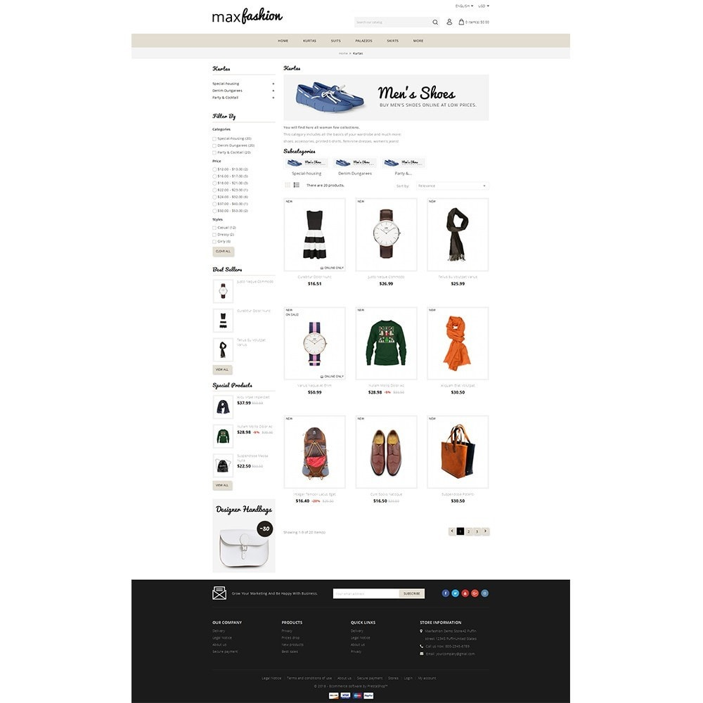theme - Mode & Schoenen - MaxFashion Demo Store - 3