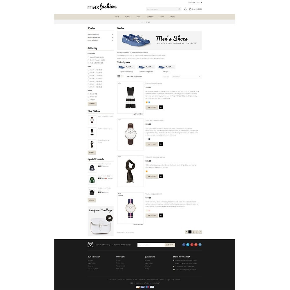 theme - Mode & Schoenen - MaxFashion Demo Store - 4