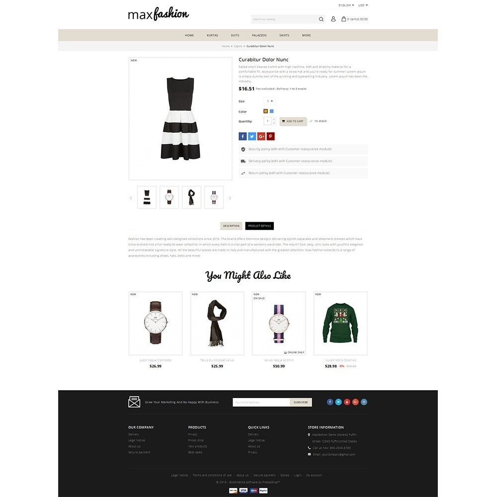 theme - Mode & Schoenen - MaxFashion Demo Store - 5