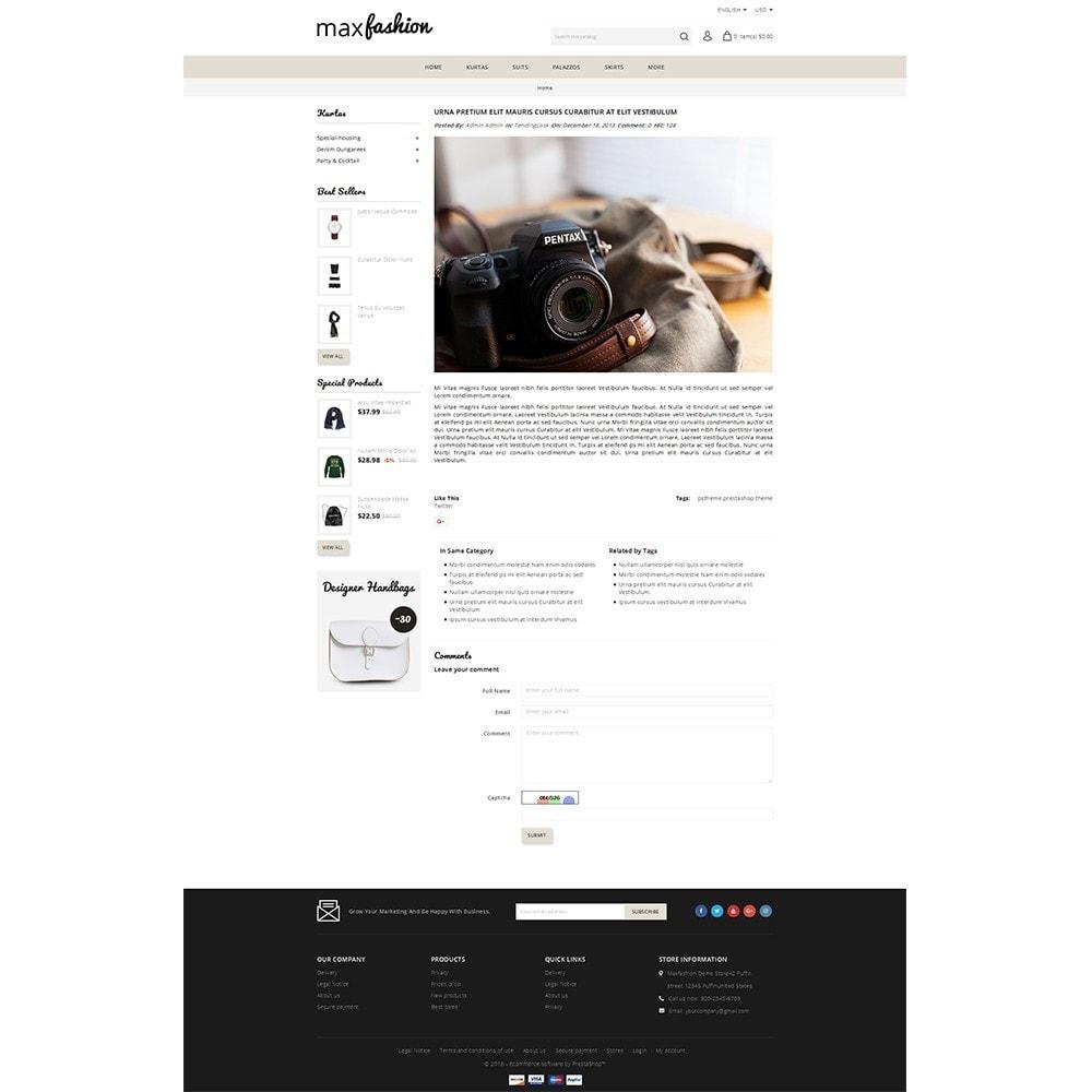 theme - Fashion & Shoes - MaxFashion Demo Store - 6