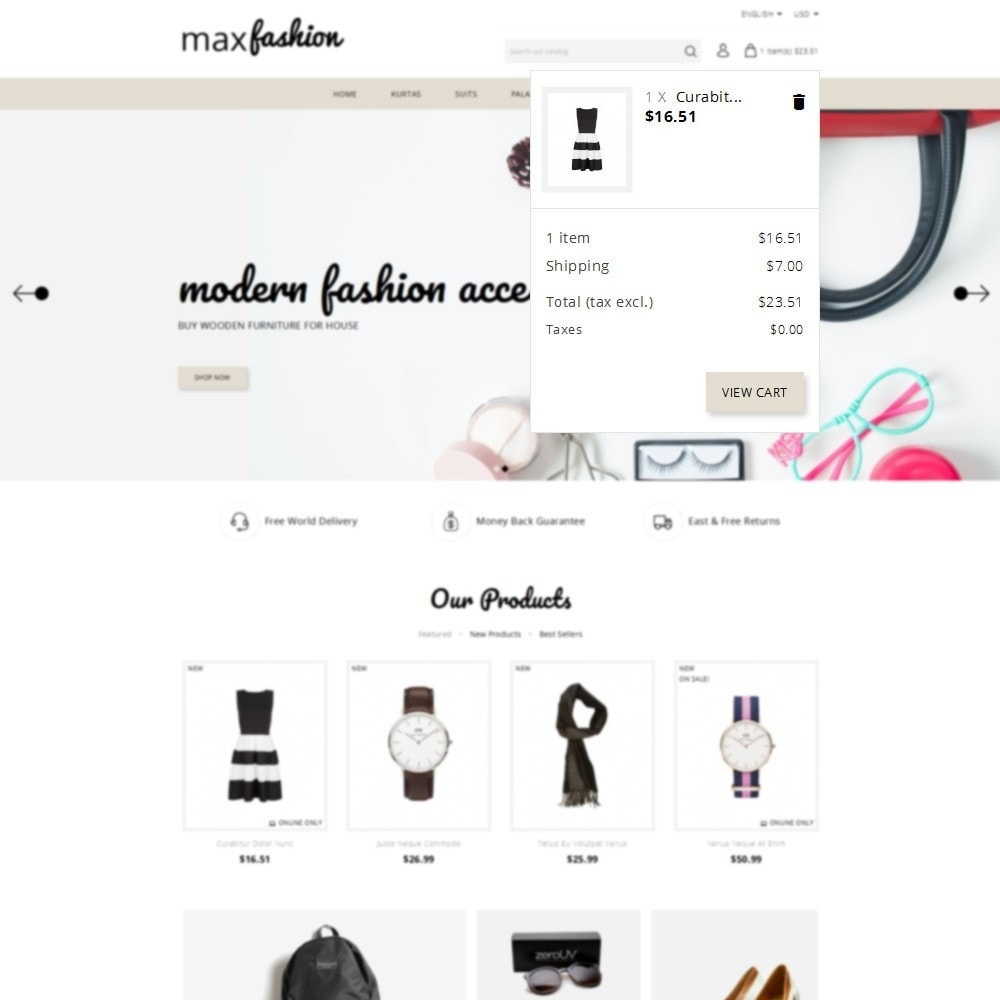 theme - Mode & Schoenen - MaxFashion Demo Store - 8