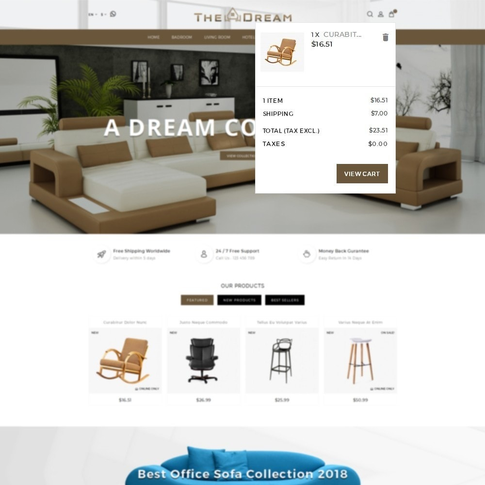 theme - Дом и сад - TheDream Furniture Store - 8