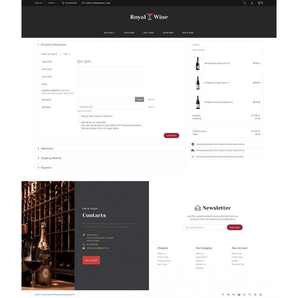 theme - Boissons & Tabac - Royal Wine - 8