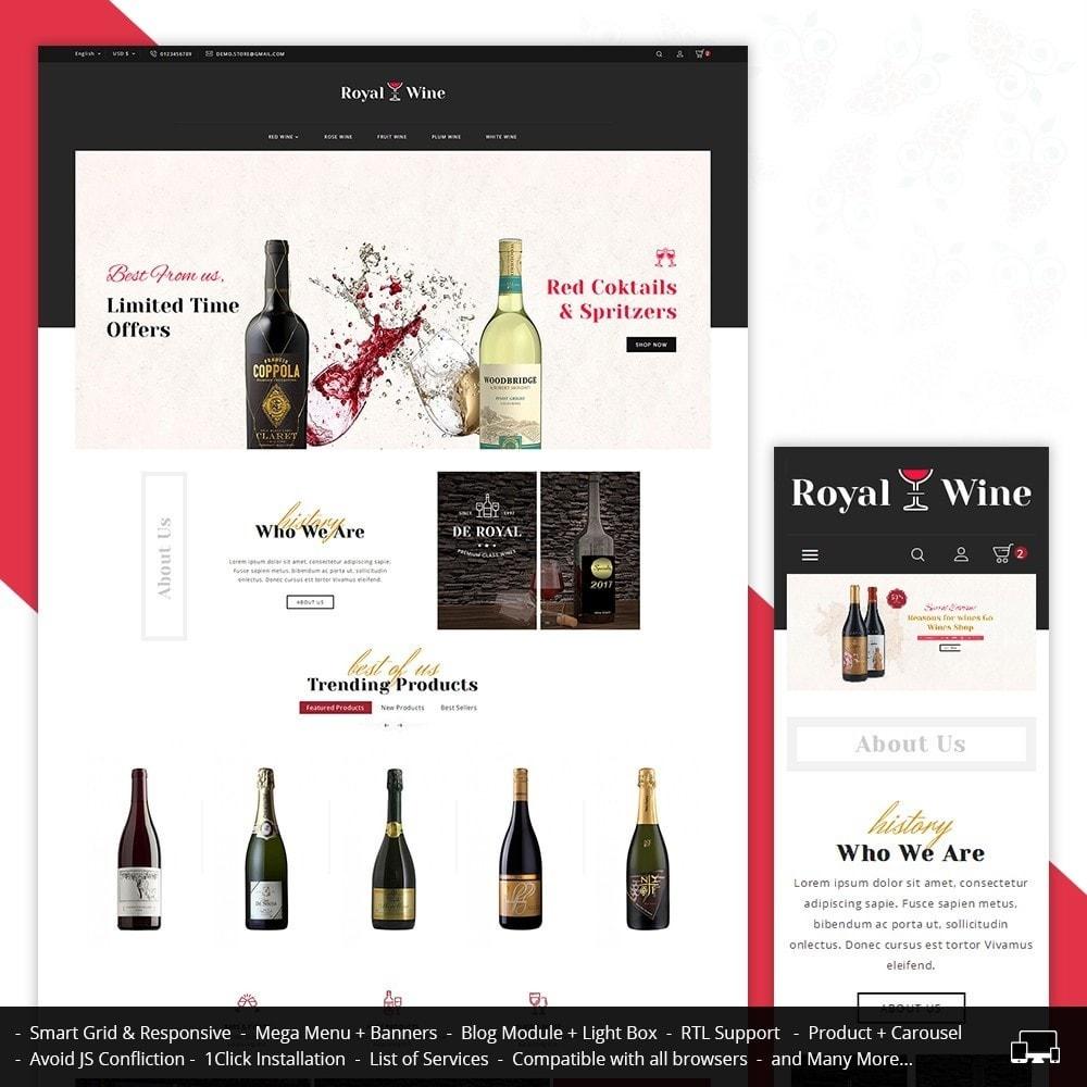 theme - Bebidas y Tabaco - Royal Wine - 2