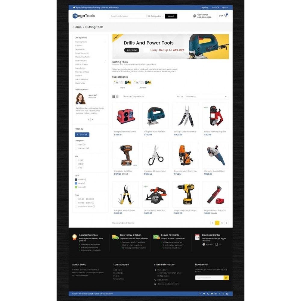 theme - Elektronik & High Tech - Mega Tools Store - 4