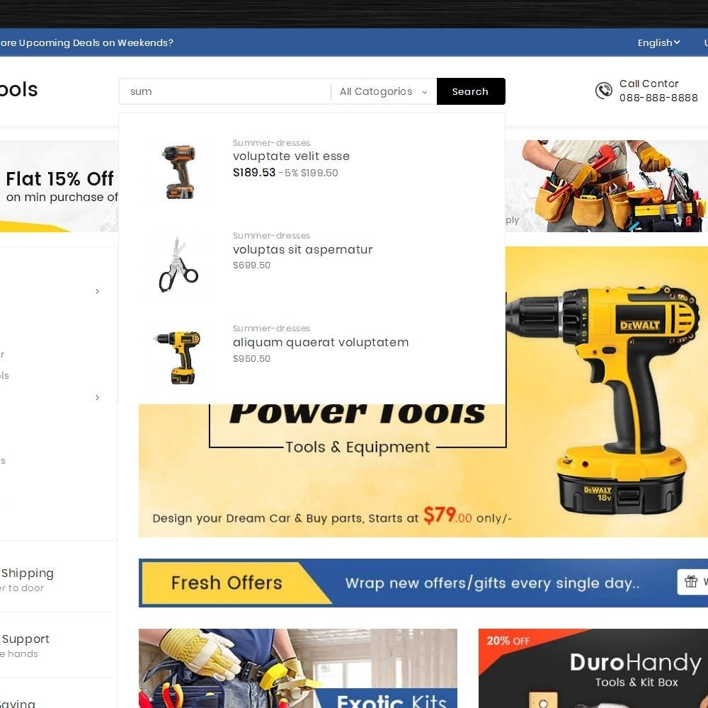 theme - Elektronik & High Tech - Mega Tools Store - 11