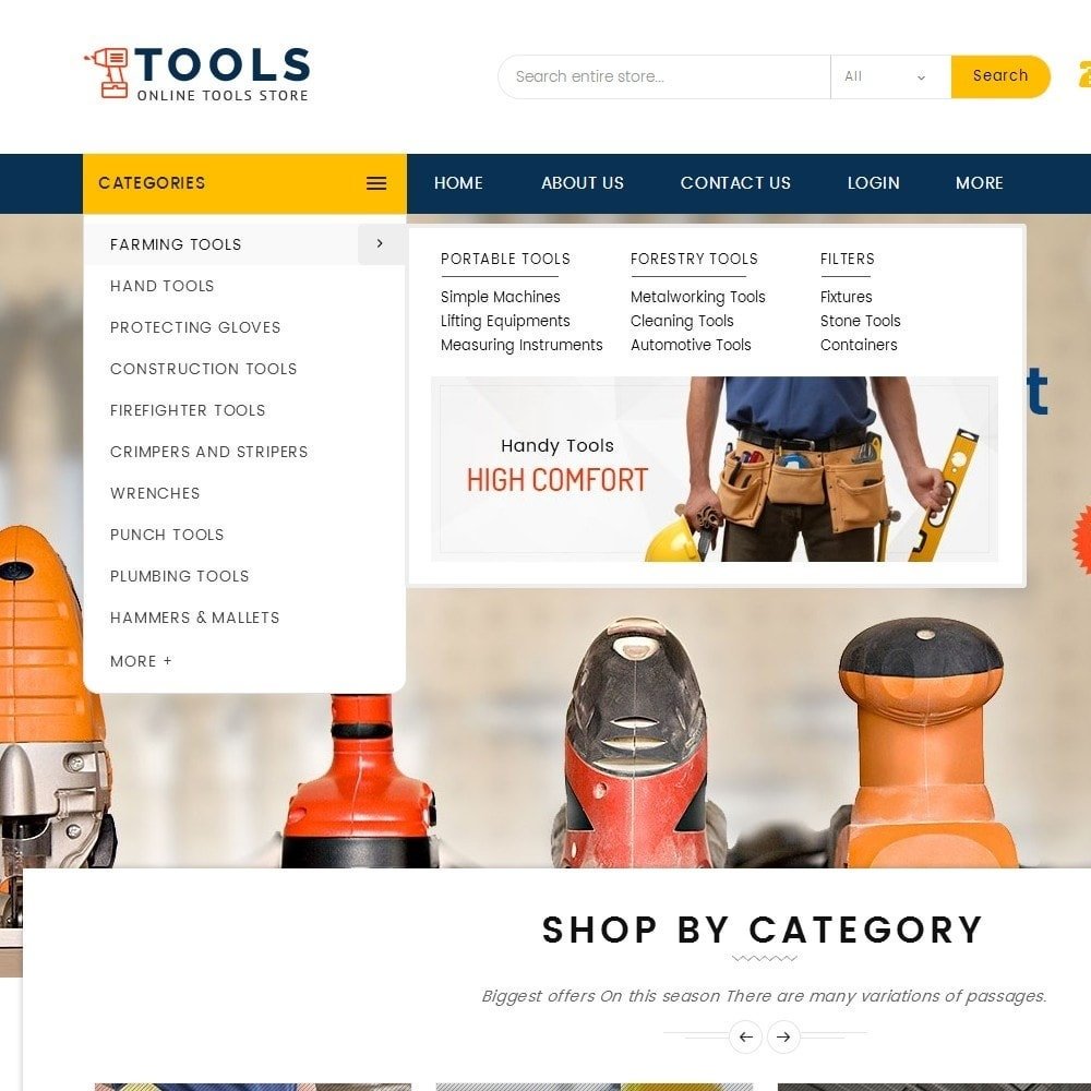 theme - Electronique & High Tech - Mega Tools Store - 10