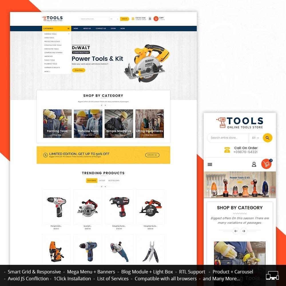 theme - Electrónica e High Tech - Mega Tools Store - 2