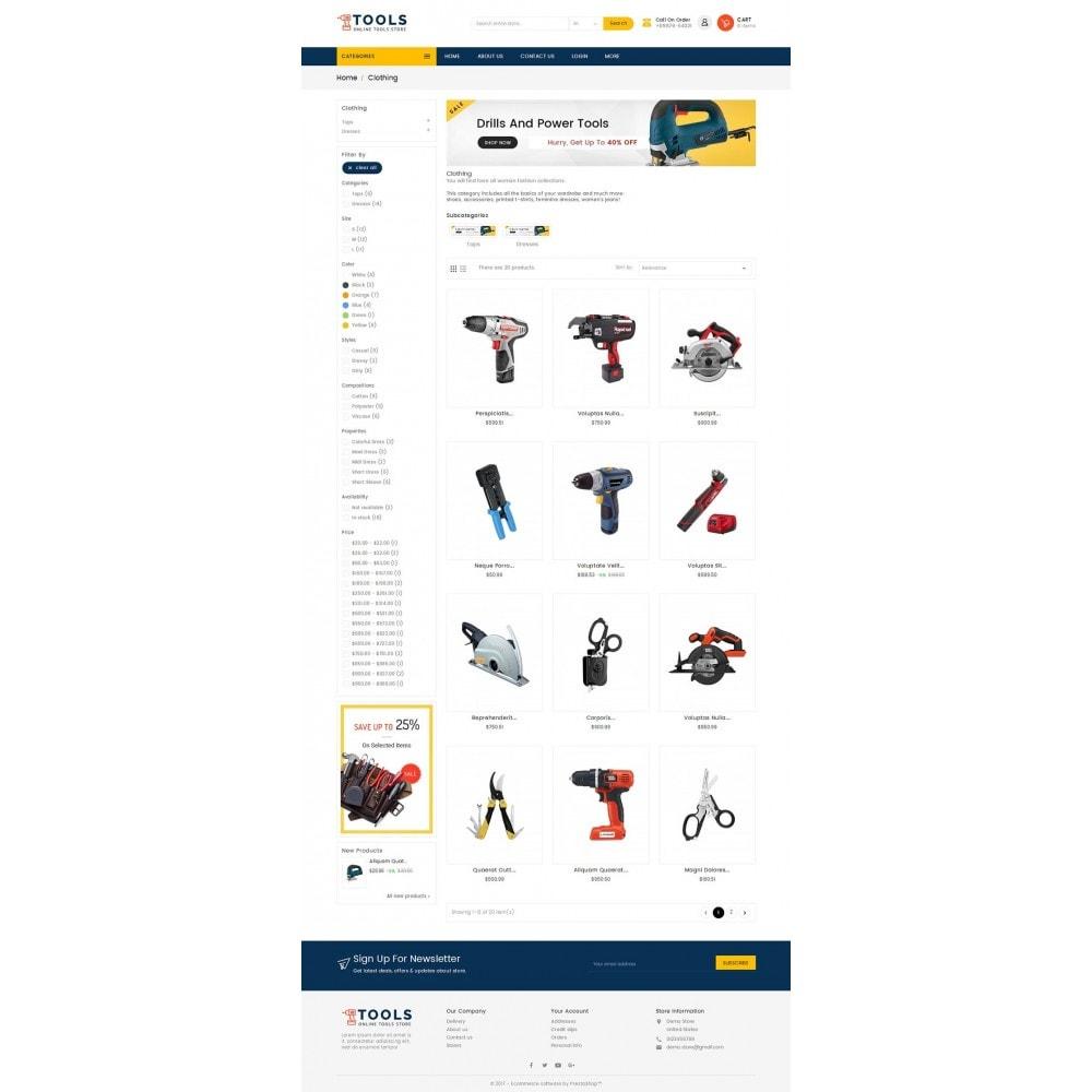 theme - Electrónica e High Tech - Mega Tools Store - 4
