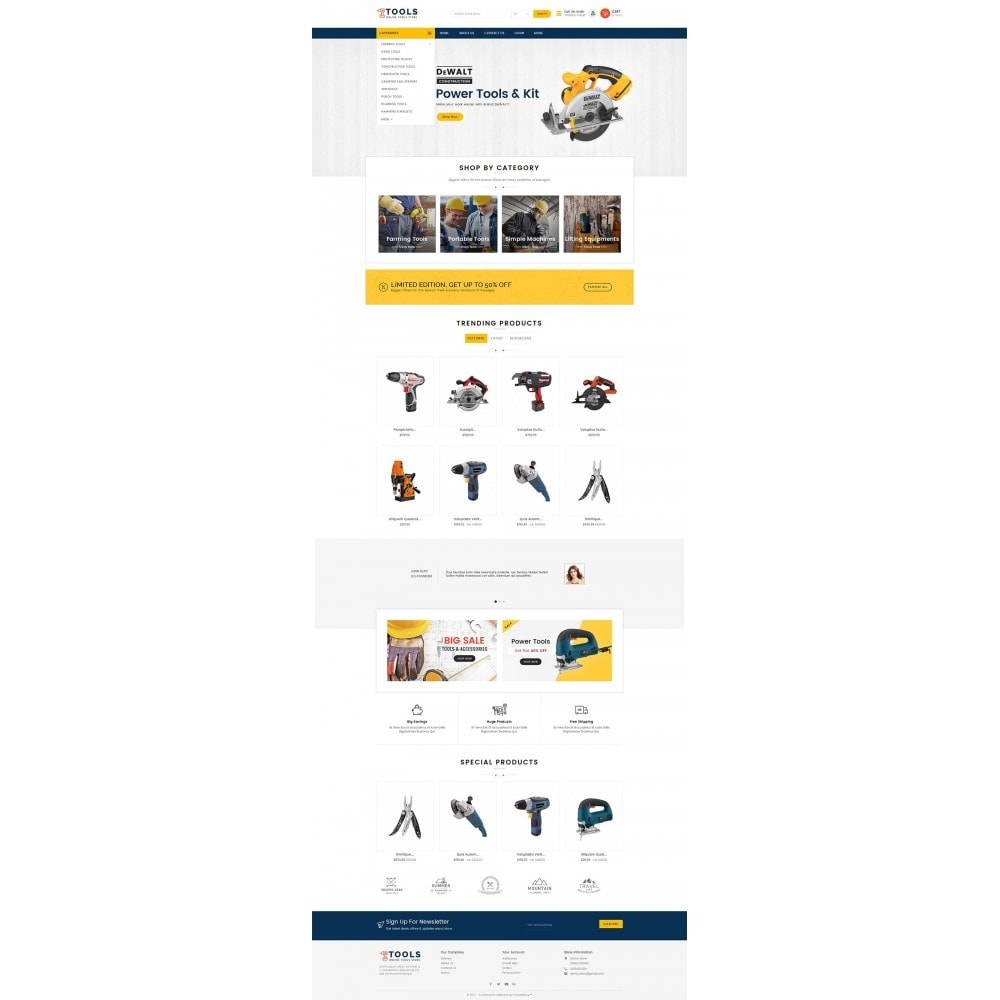 theme - Elettronica & High Tech - Mega Tools Store - 3