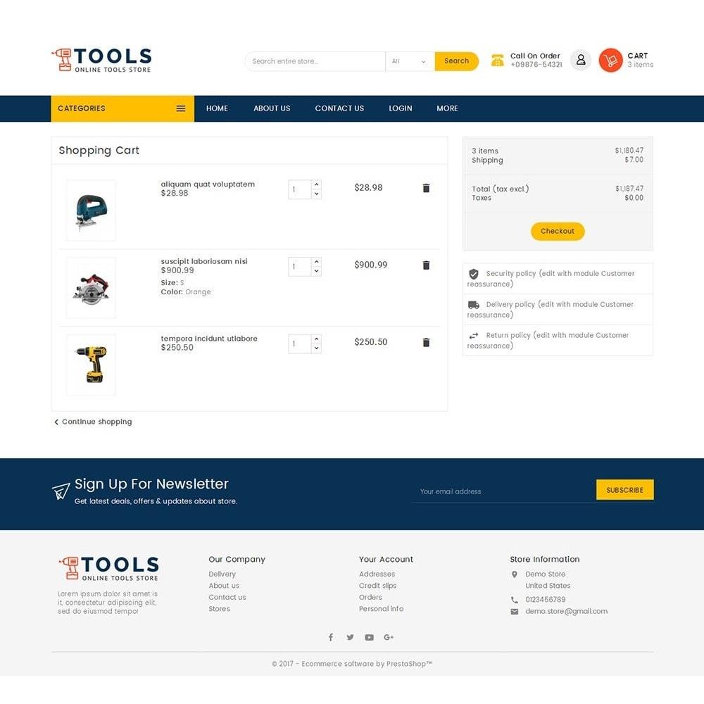 theme - Elettronica & High Tech - Mega Tools Store - 7