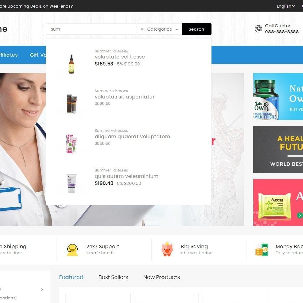 theme - Santé & Beauté - Mega Medicine Store - 11
