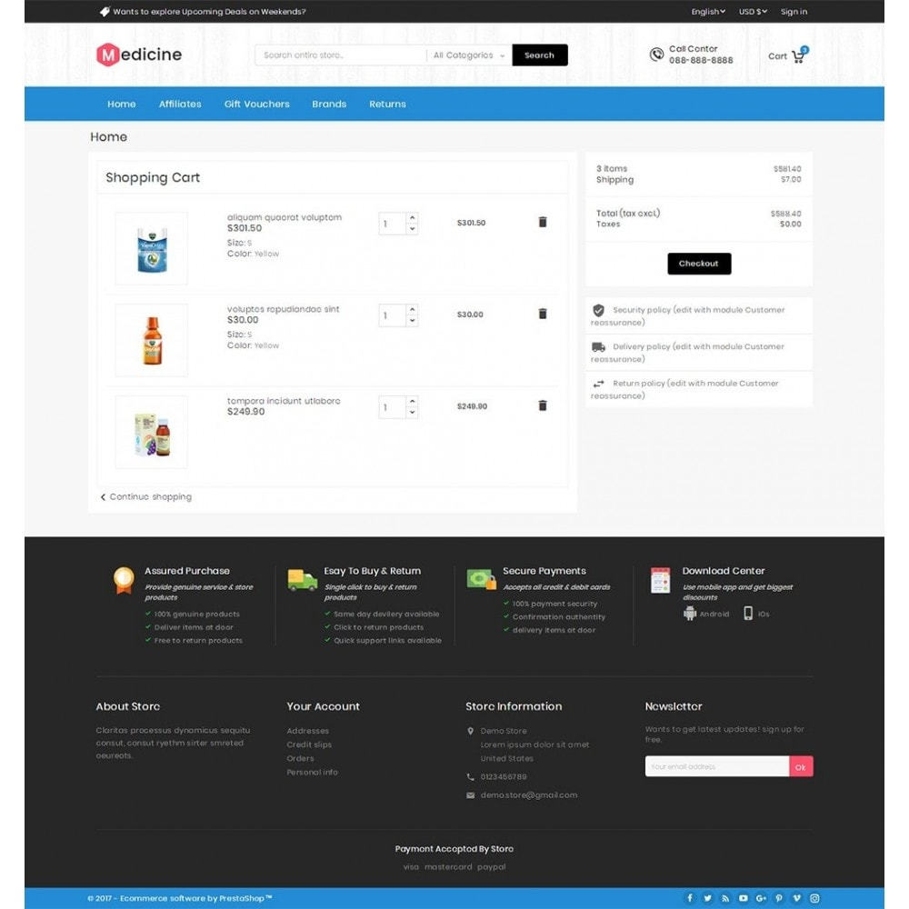 theme - Gesundheit & Schönheit - Mega Medicine Store - 7