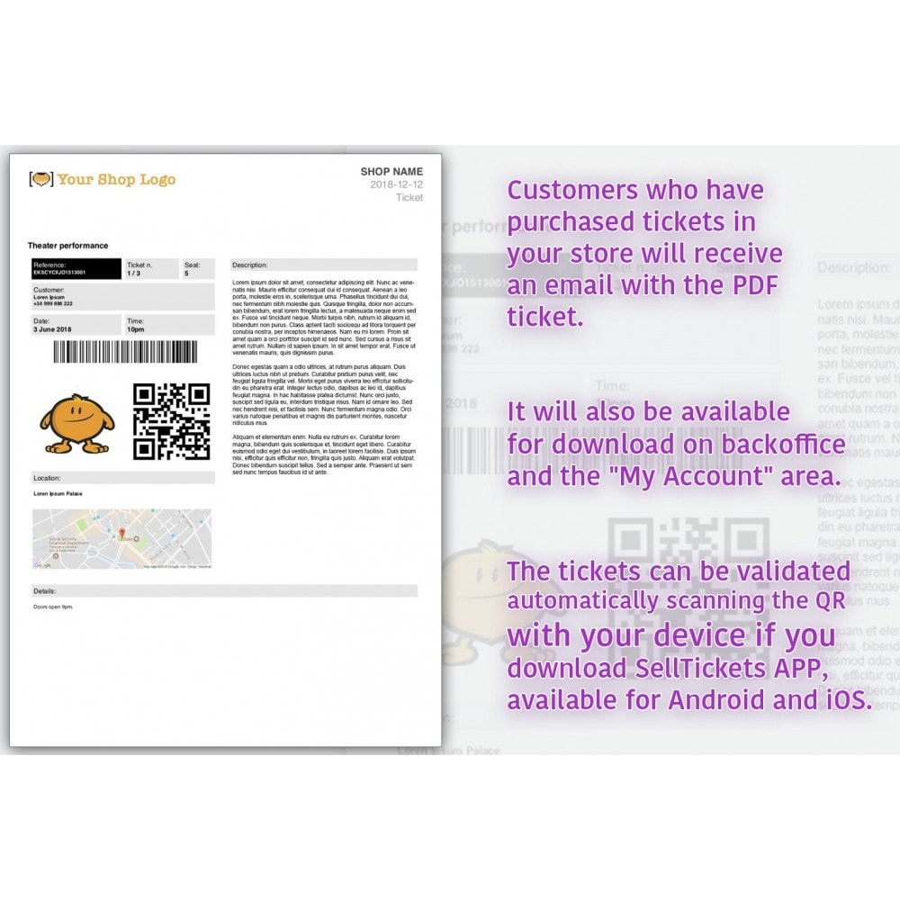 module - Wynajmu i rezerwacji - SellTickets - 4