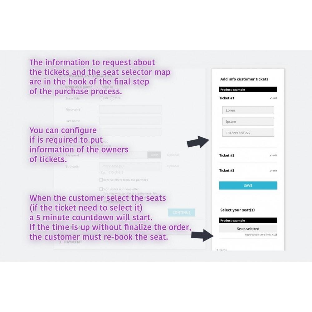 module - Location & Réservation - SellTickets - 5