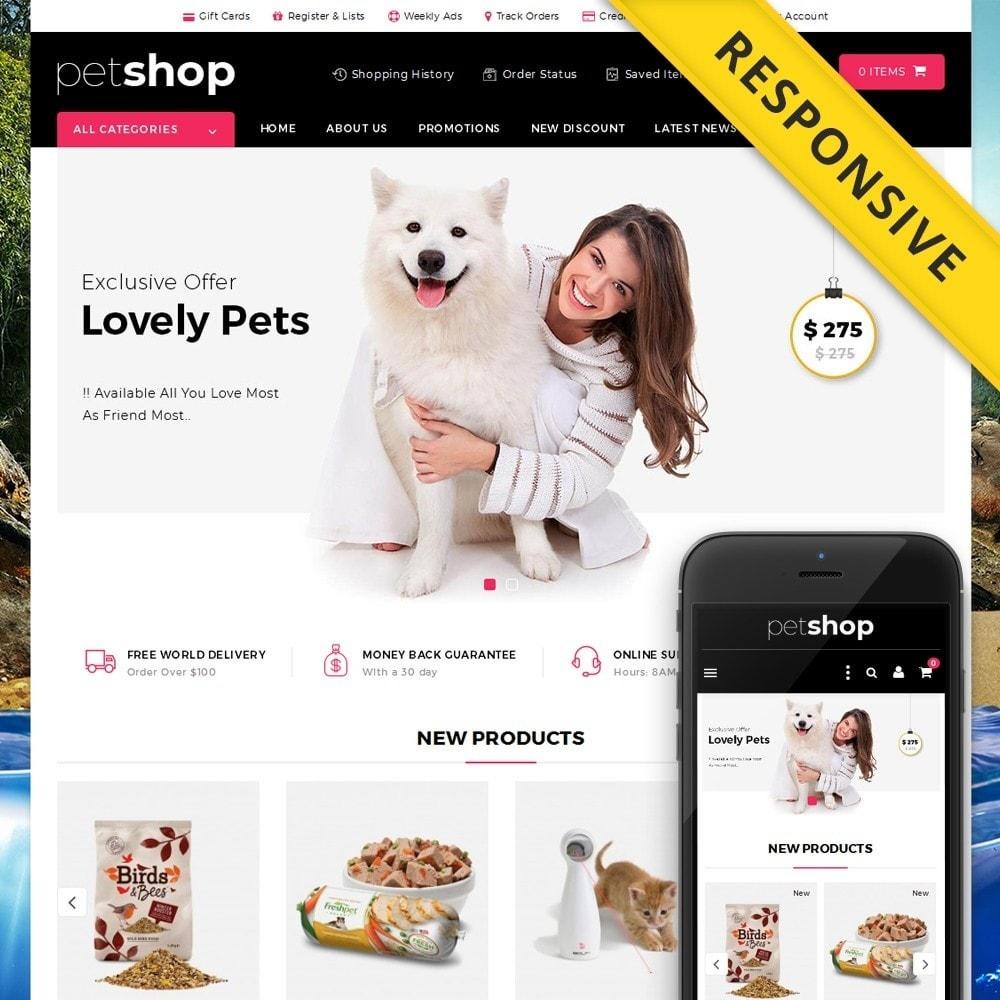 theme - Animals & Pets - Pet Online Shop - 1