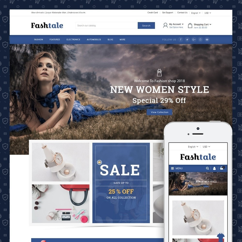 theme - Moda & Calzature - Fashtale - Apparel Store - 1