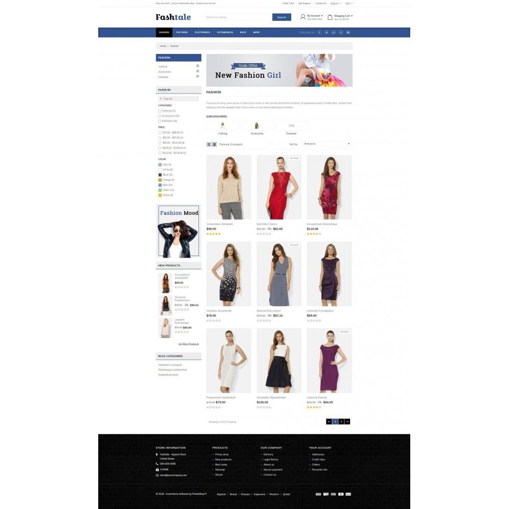 theme - Moda & Calçados - Fashtale - Apparel Store - 3