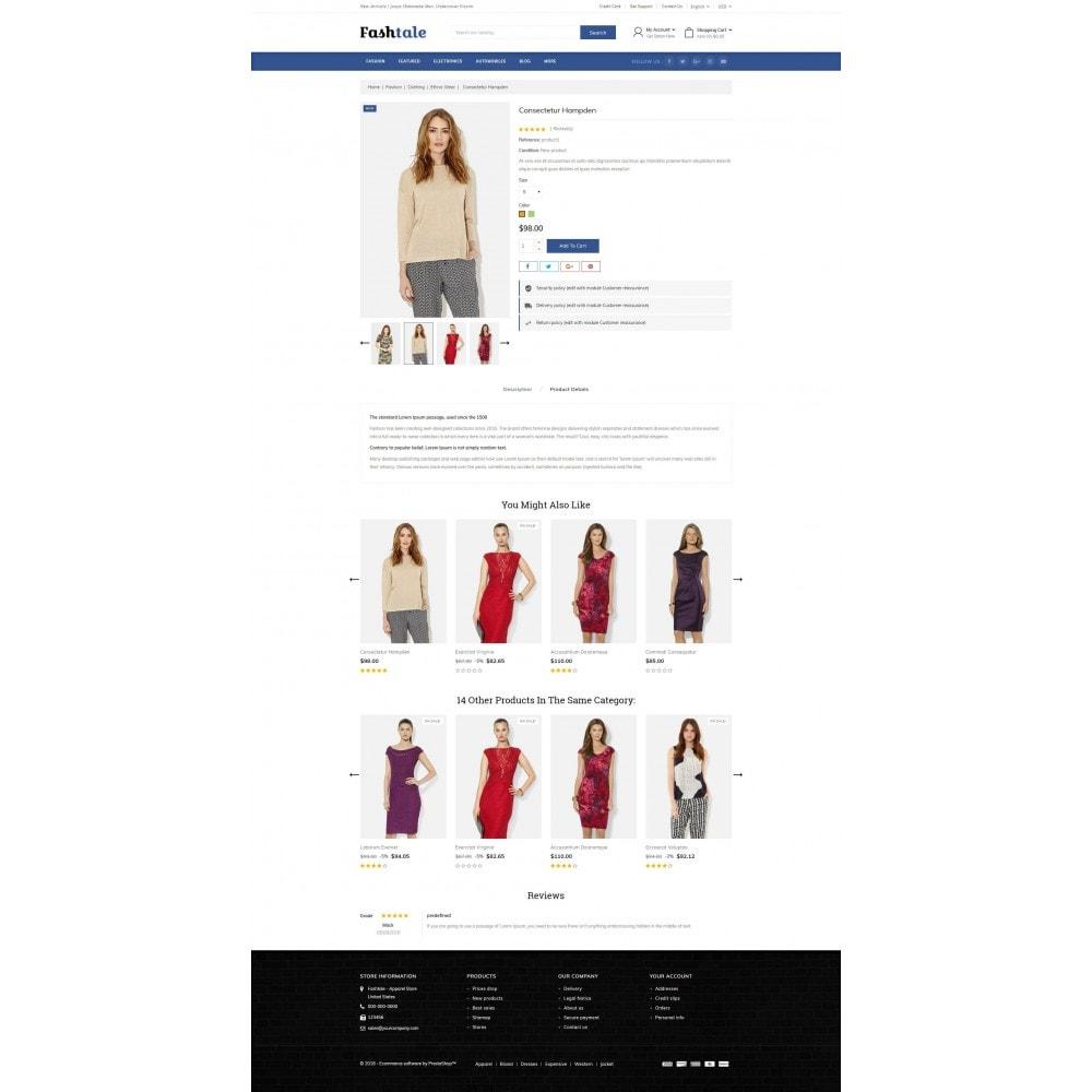 theme - Moda & Calçados - Fashtale - Apparel Store - 5