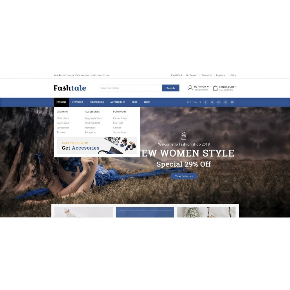 theme - Мода и обувь - Fashtale - Apparel Store - 8