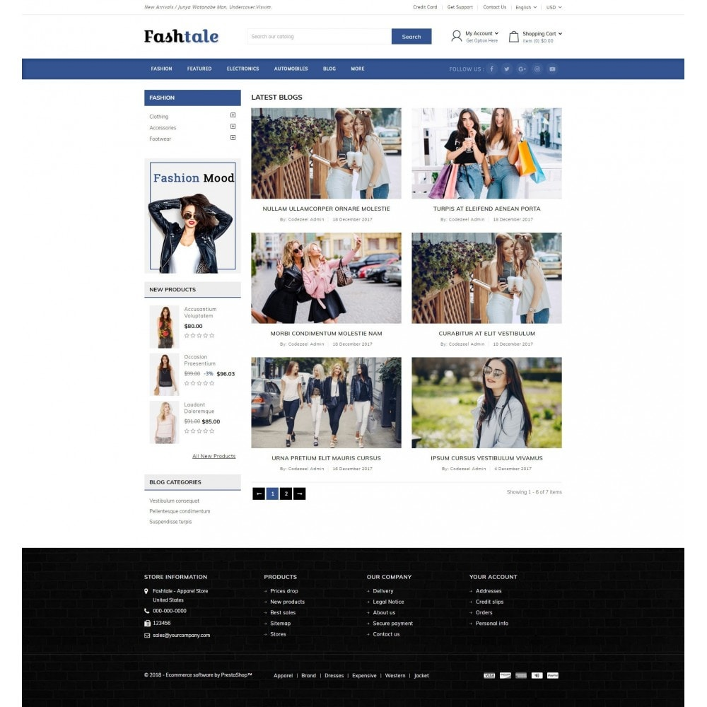 theme - Мода и обувь - Fashtale - Apparel Store - 9
