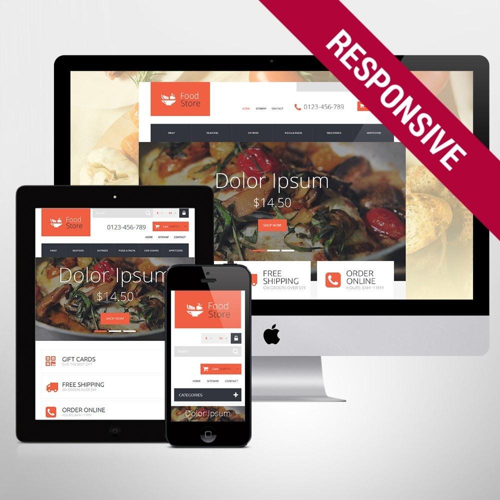 theme - Продовольствие и рестораны - Foodie - 1