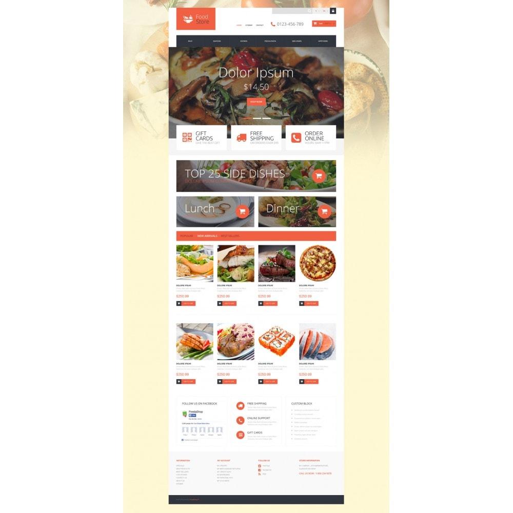 theme - Продовольствие и рестораны - Foodie - 2