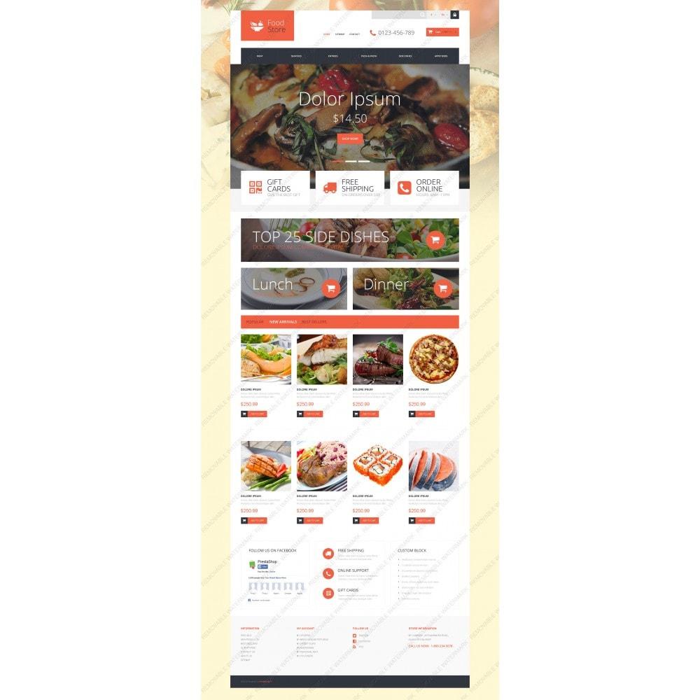 theme - Продовольствие и рестораны - Foodie - 3