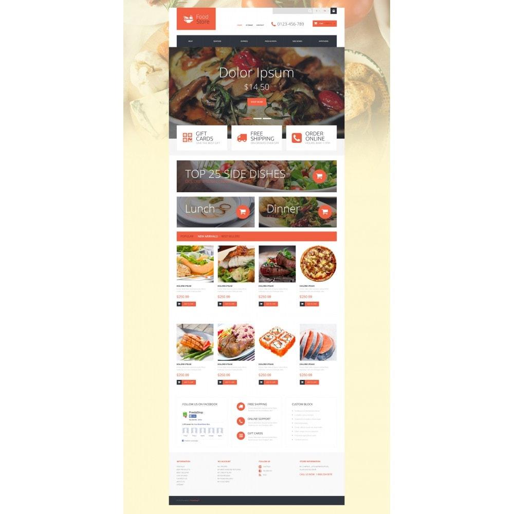 theme - Продовольствие и рестораны - Foodie - 4