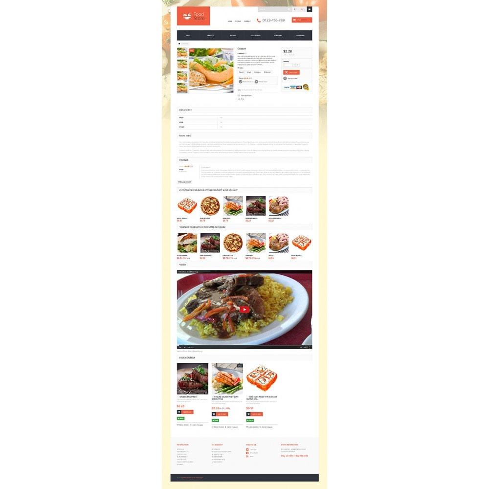 theme - Продовольствие и рестораны - Foodie - 6