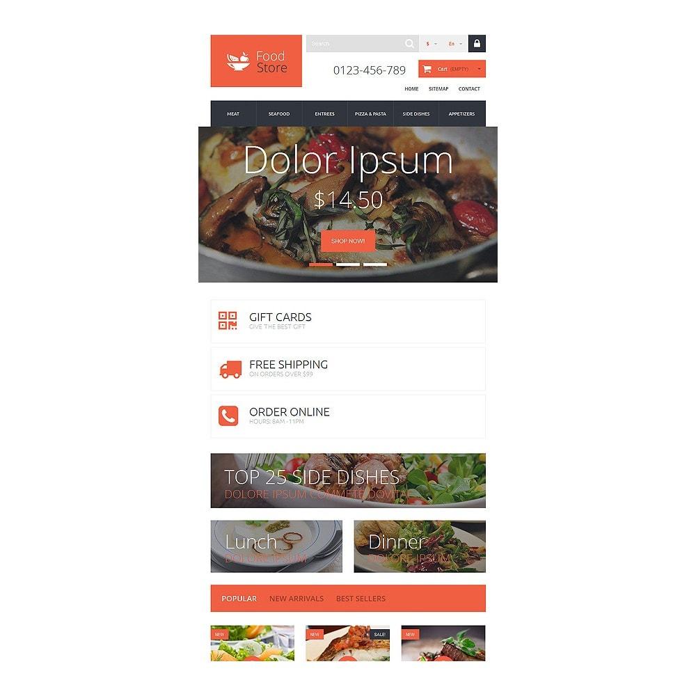 theme - Продовольствие и рестораны - Foodie - 7