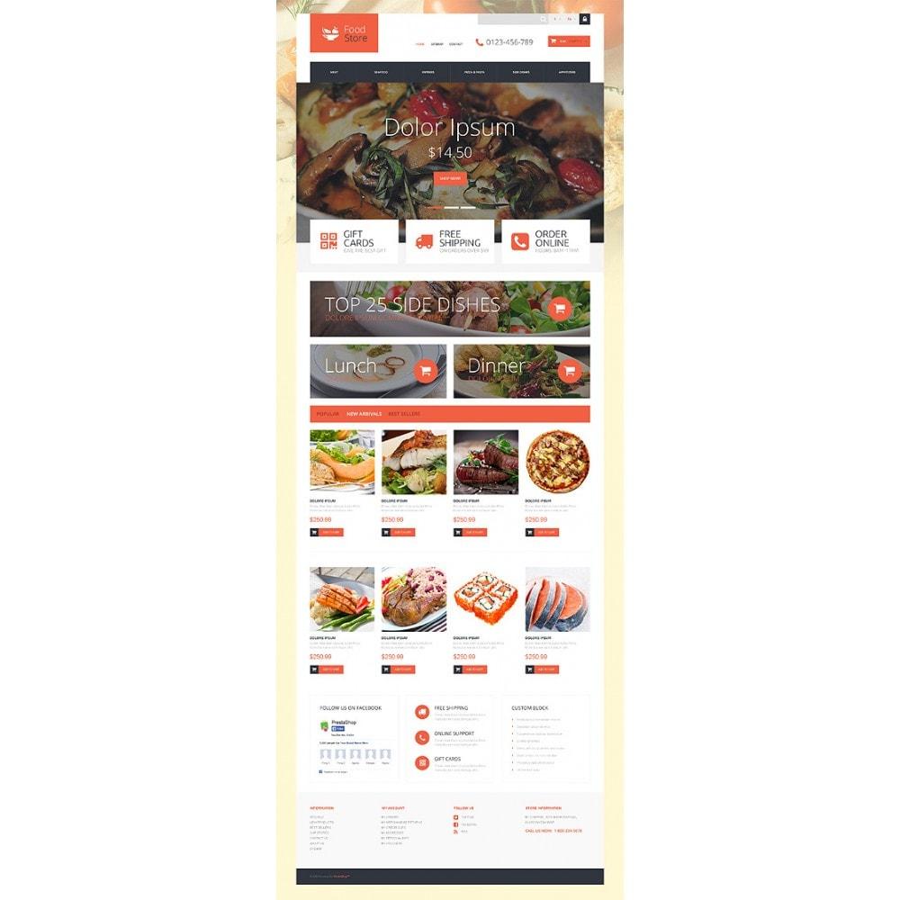 theme - Продовольствие и рестораны - Foodie - 10