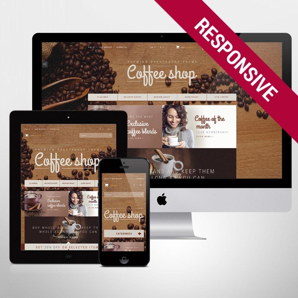 theme - Продовольствие и рестораны - Coffee Aroma - 1