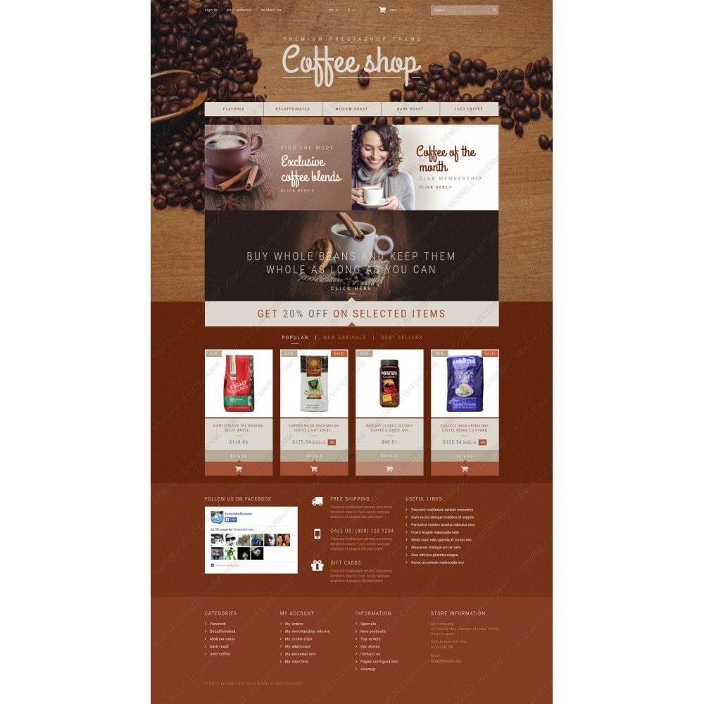 theme - Alimentos & Restaurantes - Coffee Aroma - 3