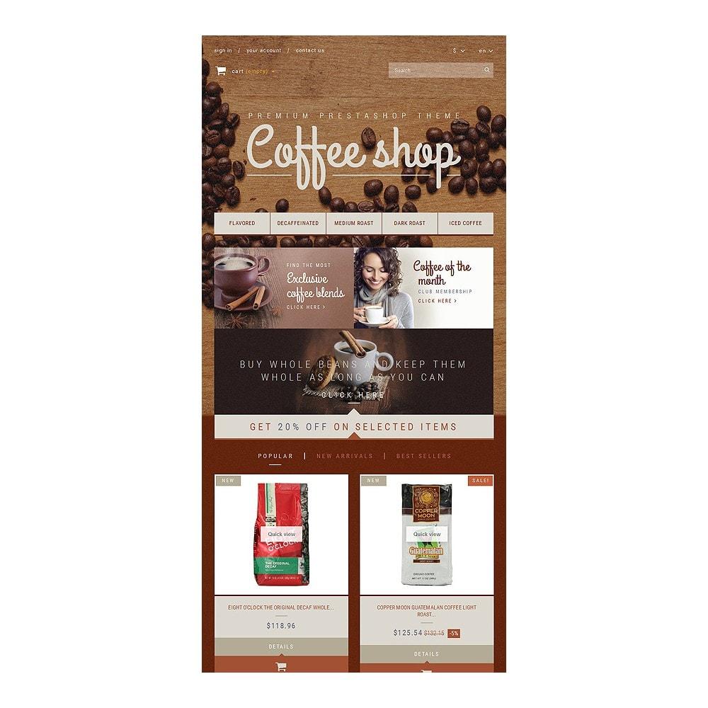 theme - Продовольствие и рестораны - Coffee Aroma - 7