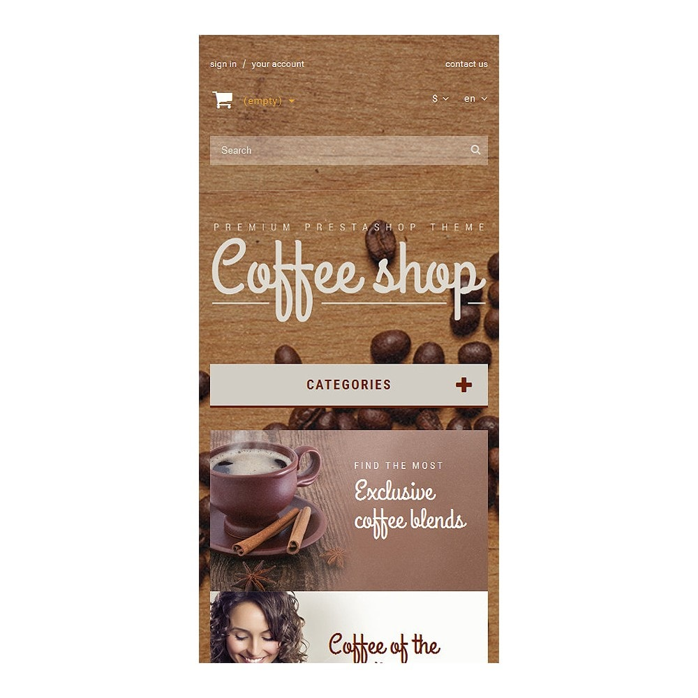 theme - Продовольствие и рестораны - Coffee Aroma - 8