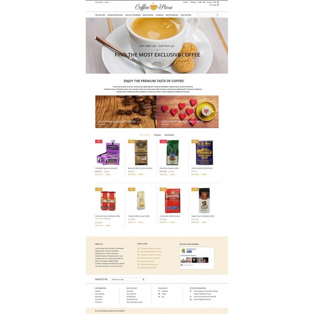 theme - Food & Restaurant - Coffee Shop - 2