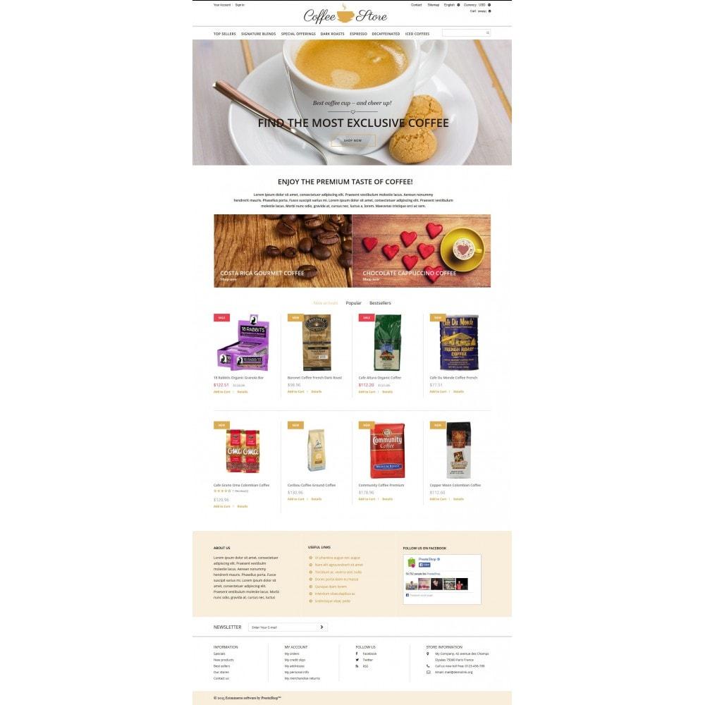 theme - Food & Restaurant - Coffee Shop - 4