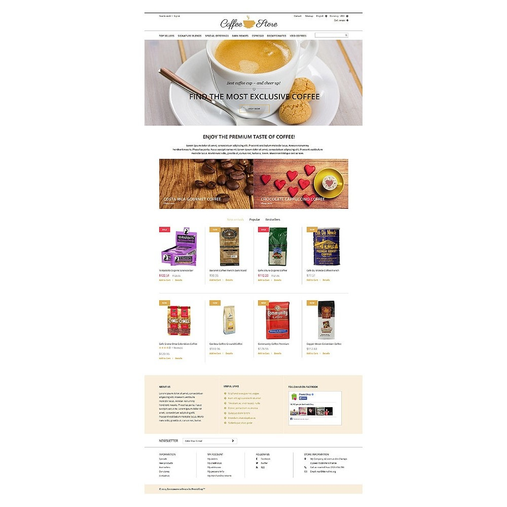 theme - Food & Restaurant - Coffee Shop - 10